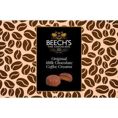 Original Milk Chocolate Coffee Creams by Beechs - 150g