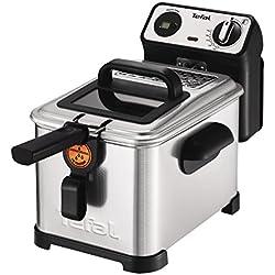 Friteuse avec filtre puissant de 2400W, inox, gris
