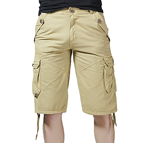 Men's Camouflage Cargo Shorts Summer Fashion Shorts 3 4 Shorts