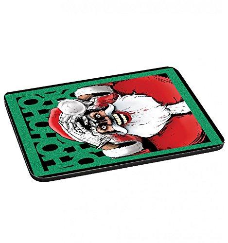 Tappetini per il mouse re Crazy Christmas Santa hahaha divertimento Geek pazzo