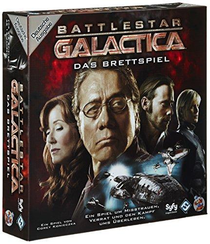 Heidelberger Spieleverlag HEI00164 – Battlestar Galactica, Brettspiel