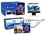 PlayStation VR + Farpoint + Aim-Controller PS4 + VR Worlds - PS4 Kamera V2 - VR Packung