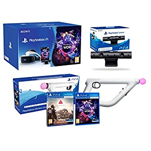 "PlayStation VR ""Farpoint Pack"" + Aimcontroller + VR Worlds + Kamera V2"