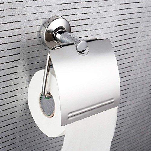YNG Toilettenpapierständer Badezimmer 304 Edelstahl Papierhandtuchhalter Kostenlos Toilettenpapierrolle Toilettenpapier Toilettenpapierablage