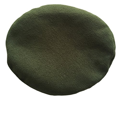 USSR Soviet Russian Army Style Khaki Military Beret Hat Cap Special