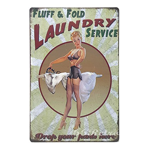 66retro-fluff-fold-laundry-service-vintage-retro-metal-tin-sign-wall-decorative-sign-20cm-x-30cm