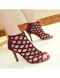 e963a76b05 Amazon.it: Sandalo rosso tacco a spillo - Includi non disponibili ...