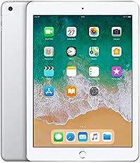 "Apple iPad, 9,7"" mit WiFi + Cellular, 32 GB, 2018, Silber"