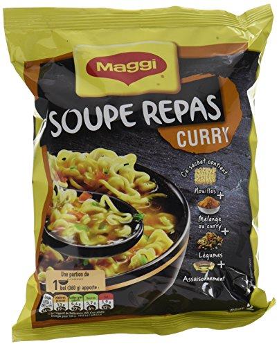 Maggi Soupe Instantanée au Curry 8 x 120 g,MAGGI,