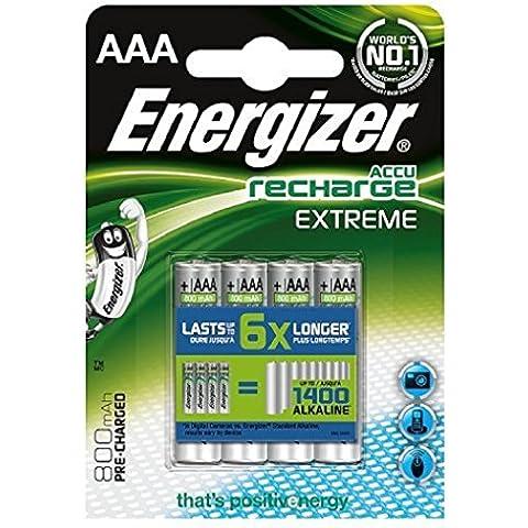 Energizer ENRAAA800P4 batteria ricaricabile