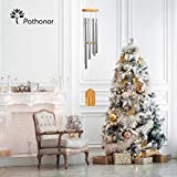 Garden Wind Chime Outdoor, Pathonor Large Alloy Grace Musical Wind Chimes Bells Crafts