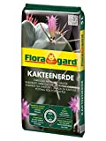 Floragard Kakteenerde 5 L - Spezialerde für Kakteen und Sukkulenten, mit Quarzsand -