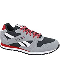 Reebok - GL 1500 - V63320 - Color: Gris-Negro-Rojo - Size: 37.0