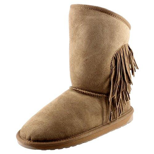 EMU Australia Woodstock Chataigne W11259CHESTNUT, Boots