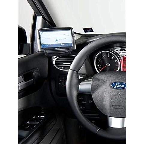 KUDA Navigation ekby (LHD) PER: Navi Ford Focus da 11/04 e 04/07 fino a 02/in vera pelle nero montaggio a-pilastro