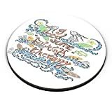 PosterGuy Fridge Magnet - Beach Therapy Beach, Surf, Waves, Shells, Sand, Sea, Boats, Wild, Waves,Beach Therapy
