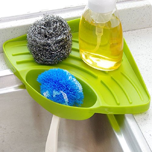 Bestim Incuk Schwammhalter mit Saugnapf grün Dish Caddy