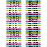 50 Etiquetas Adhesivas Minis Personalizadas para marcar objetos, lápices, bolis, etc. Medida 4,2 x 0,5 cm. Color 9