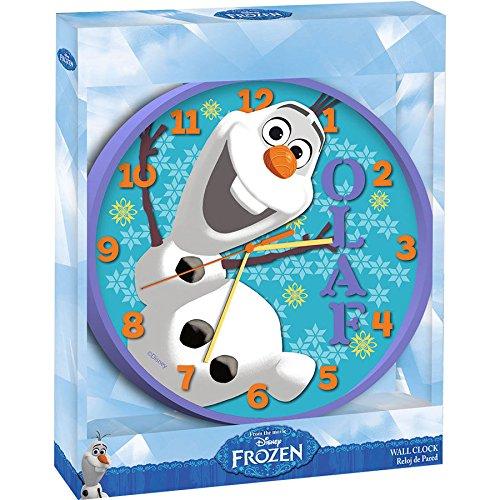 Disney Frozen Olaf - Wandklok - 24 cm - Paars