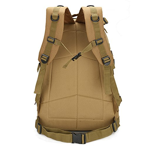 Alpinismo Outdoor borse per gli uomini e le donne di spalla camuffamento zaino borse impermeabili 50*37*21cm, deserto Sam Sha