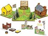 Storytime Toys - Conjunto de casa de juguete y cuento de los tres...