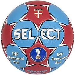 Select Handball Match Soft - Balón de balonmano suave, color gris y rojo azul azul / rojo Talla:1