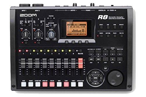 zoom-r8Gerät Recorder Interface sampler. Recorder 2Ausgänge