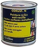 Matt Chem 203M Corust N Rostschutzfarbe für alle Metalloberflächen schwarz