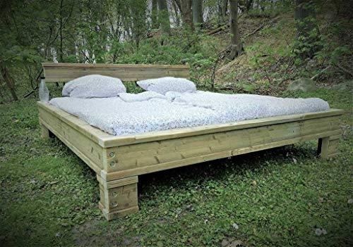 """Bett""""Doppel t Träger"""" Industrial 180x200 handmade gebraucht kaufen  Wird an jeden Ort in Deutschland"""