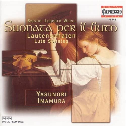 """Weiss, S.L.: Lute Sonatas Nos. 39, """"Partita Grande"""" and 45 / Prelude and Fugue in D Minor"""