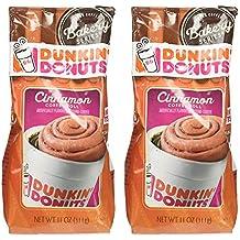 Dunkin Donuts Panadería Serie Canela Café Rollo con sabor a café molido - (Por bolsa