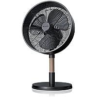 Brandson - Ventilator / Design Tischventilator 30cm   3 Geschwindigkeitsstufen   Zuschaltbare 80° Oszillation   Angenehmes Betriebsgeräusch   Neigungswinkel ca. 25°   Hochmodernes Design / schwarz matt