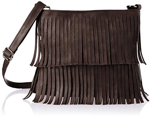 Alessia74 Women's Sling Bag (Dark Brown) (PBG246G)