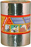 Sika multiseal-Banda de Sellado Autoadhesivo a frío, plateado, 115155