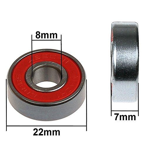 Zoom IMG-2 mach1 set di cuscinetti 608