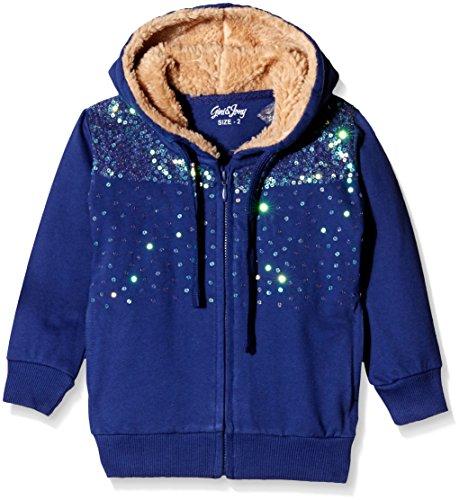 Gini & Jony Baby Girls' Jacket (122090610538 1236_Malibu Blue _12-18 months)