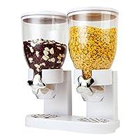 Mantiene fresco il cibo secco ed è facilmente accessibile tramite il dispenser per cereali che distribuisce 1 porzione da 30 grammi circa con un rapido movimento del polso. Questo pratico sistema vi evita di rincorrere i bambini ogni mattina ...