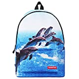 Leeminus ,  Schulranzen Gr. M, Delfin