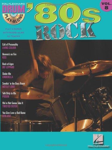 '80s rock batterie+CD (Drum Play-Along)