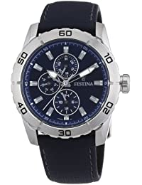 757b25d4b690 Festina F16607 2 - Reloj analógico de Cuarzo para Hombre con Correa de Piel