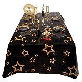PARTY DISCOUNT NEU Tischdecke VIP mit Sternen, 130 x 180 cm