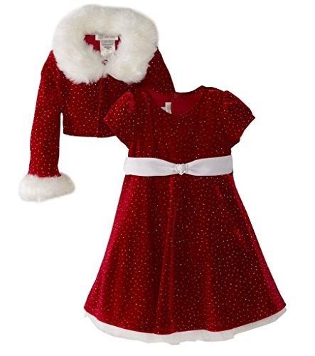 Kidslove Weihnachten Kleid mädchen 2tlg Kleid Set Neujahr Kleid Party Cosplay Mädchen Kleid Prinzessin kostüm (Everyday's A Party Kostüme)