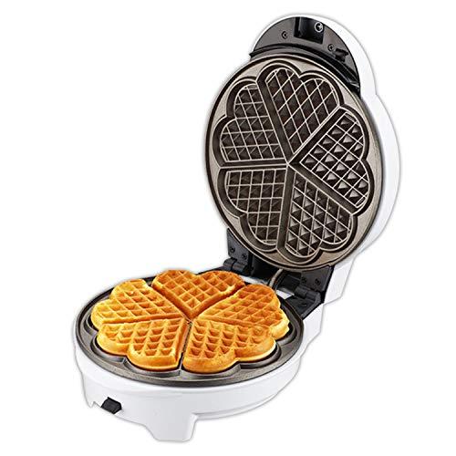 Xcxdx waffle maker, piastra antiaderente, teglia rimovibile, tazza multi-funzione torta snack maker