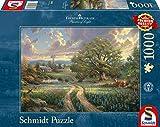 Schmidt Spiele 58461 Thomas Kinkade 58461-Thomas, Country Living, 1.000 Teile, bunt