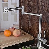 BBSLT Multi-angolo rotazione installazione chiave rubinetto da cucina inox valvola miscelatrice