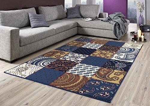 tapis-en-patchwork-bleu-brun-diva-tapis-moderne-en-wohnzimmerteppich-wohnzimmerteppich-couleurs-vive