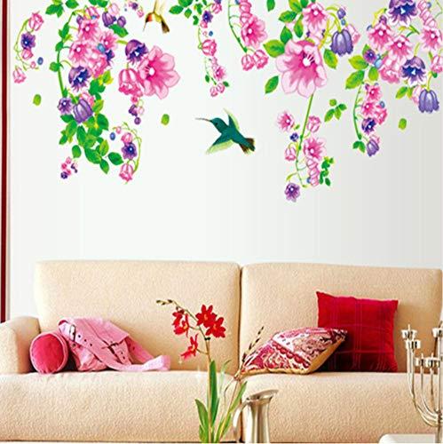Preisvergleich Produktbild Xqi wangpu Morning Glory Das Wohnzimmer TV Einstellung Wand des Haushaltsverzierung Wanddekoration An Der Wand 150X60cm