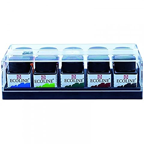 ECOLINE - CONCENTRATED LIQUID WATERCOLOUR INK - SET 10X30ml