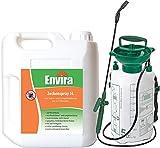 ENVIRA Zeckenvernichter 5Ltr + 5Ltr Drucksprüher