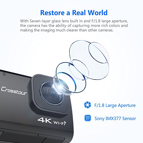 Zoom IMG-3 crosstour action cam 4k 20mp